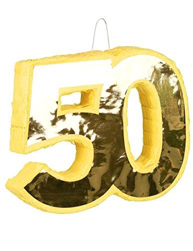 Generique - Pinata Jaune 50 Ans