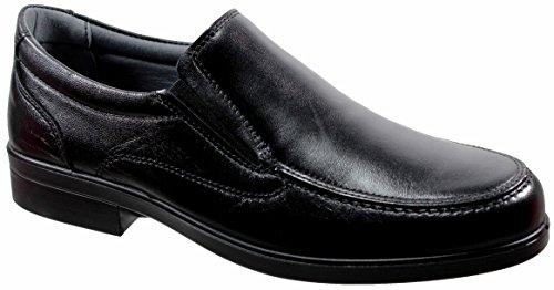 LUISETTI 26850 Negro - Zapato mocasín Piel Profesional