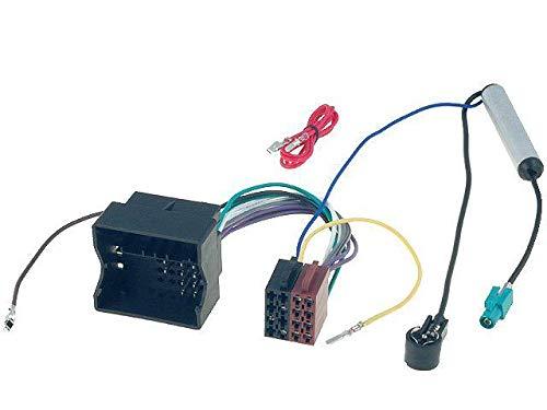 Fiche ISO autoradio compatible avec VW ap02 + Adaptateur antenne