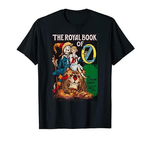 Libro Real De OZ Retro Mago De OZ Dorothy León Espantapájaros Camiseta