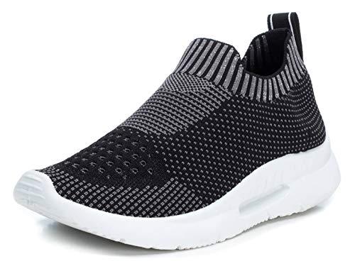 XTI 49823.0, Zapatillas sin Cordones Mujer, Negro (Negro Negro), 40 EU