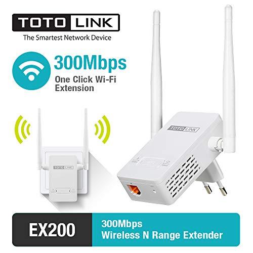 ML Amplificador de señal WiFi Amplificador de señal Ap Potencia Alta a través de la Pared Modo de Punto de Acceso de 2.4GHz Extienda el WiFi al hogar y Dispositivos de Alexa