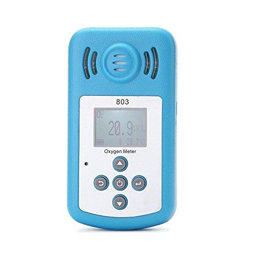 lobzon kxl-803con pantalla LCD–Detector de gas portátil detector de oxígeno oxígeno concentración Detector de alarma de sonido detector de gas