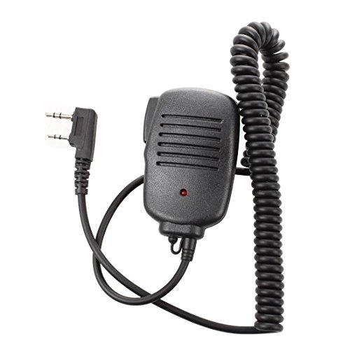 SODIAL(R) Bidirezionale portatile altoparlante Mic microfono per Baofeng UV-5R / 5RA / 5RB 666S 888S NUOVO