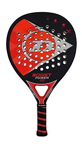 Dunlop Sports Boost Power 2.0 Padelschläger, Rot/Schwarz