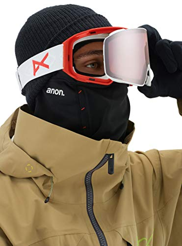 Product Image 6: Anon Men's M4 Cylindrical Goggle with Spare Lens, Eyes Frame Sonar Silver Lens; Spare Lens: Sonar Infrared
