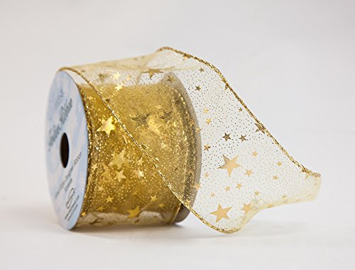 Regali di Natale a tema cavo Wrapping nastri 63mm X10YDS nastro eleganza