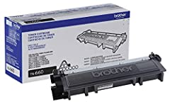BROTHER GENUINE CARTRIDGE Brother TN 660 is a Brother Genuine cartridge that produces mono laser prints in high quality you can depend on YIELDS UP TO 2,600 PAGES This replacement high yield black toner cartridge can print approximately 2,600 pages(1...