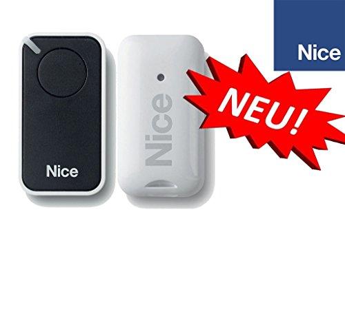 Preisvergleich Produktbild NICE INTI1 black 1-kanal handsender,  433.92Mhz rolling code. Kompatibel mit FLOR-S,  ONE,  FLORE,  INTI fernbedienungen.