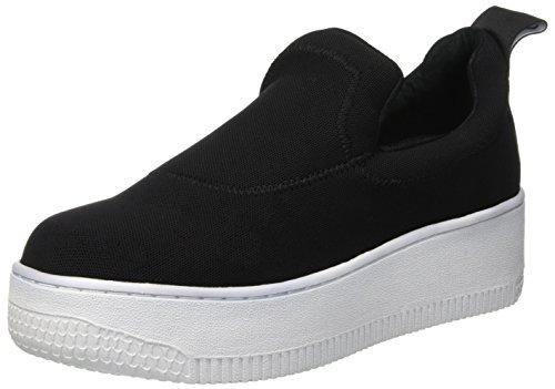 Windsor Smith Speedy, Sneaker Donna, Multicolore (Black/White 001), 38 EU