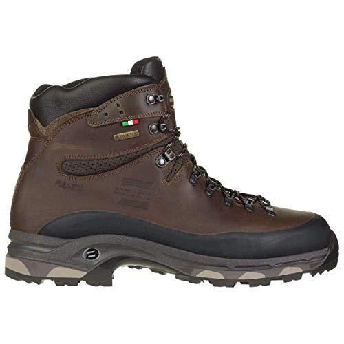 Zamberlan Mens 1006 N.Vioz Plus Gore-Tex RR WL Chestnut Leather Boots 44 EU