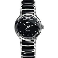 Rado Centrix Black Dial Black Ceramic Men's Watch