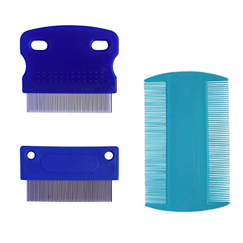 zYoung 3 Pcs Dog Comb, Tear Stain Remover, Dog Eye Stain Remover, Dog Grooming Comb, Comb for Dogs, Gently Removes Mucus and Crust, Tear Stain Remover for Dogs, Pet Tear Stain Remover