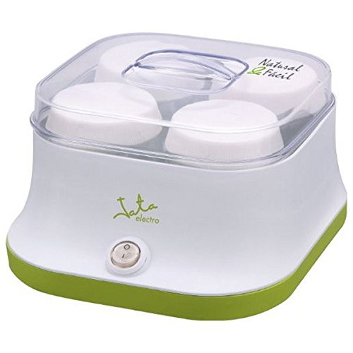 qtimber Yogurtera JATA YG523 11W 12.6 x 19.81 x 17.4 cm macchina per yogurt, yogurtiera