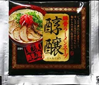 Japanese Noodles Tonkotsu Ramen Concentration Pork Bone Soup, 1-Pounds, 10 Packs