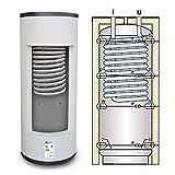 Termoacumulación combinada para producción instantánea de agua caliente sanitaria y agua de calefacción (300 litros)