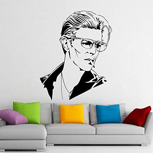 Geiqianjiumai muziek zanger sterren muursticker kinderkamer muurtattoos Home Design Vinyl strand muurschildering poster kunst sticker muur