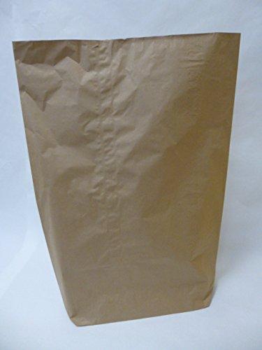 Rodenbacher Papieragentur GmbH 50 St. Papier-Bioabfallsäcke 240l Format 80x120x30 cm Motiv: unbedruckt, 2lagig, mit extra Bodendeckblatt