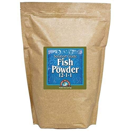 Down To Earth All Natural Fertilizers GL56723710 12115 Down to Earth Fish Powder Fertilizer, 5 lb
