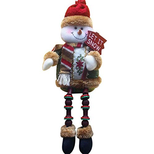 Guo Nuoen Santa Claus Sitting Porcelain Christmas Decoration Snowman Doll Toy Hanging Showcase Boutique Hotel Decor Gift