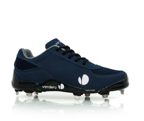 Verdero Classic II LO Metal Baseball Shoes, Navy, Size 12