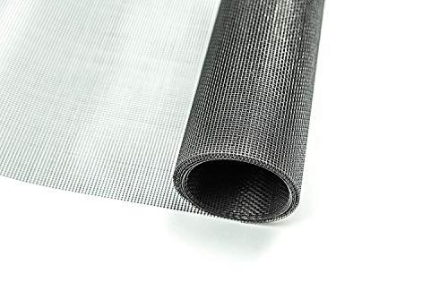 Fliegengitter Gewebe Insektenschutzgewebe für Fenster und Türen Rollenware 1,0 x 10,0 Meter grau Grundpreis/m² 3,67 Euro