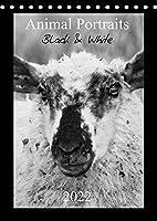 Animal Portraits Black & White 2022 CH Version (Tischkalender 2022 DIN A5 hoch): Schwarzweisse Portraits von tierischen Gesichtern. (Monatskalender, 14 Seiten )