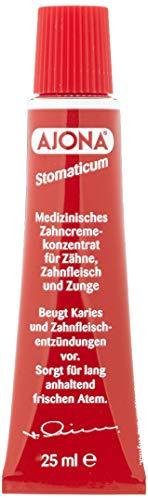El Dr. Rudolf Amor Nachfolger Ajona Stomaticum Medizinische Zahnpasta Konzentrat 25 ml
