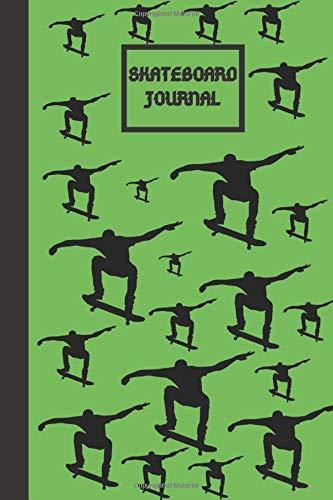 Skateboard Journal: Skateboard Cute Lined Notebook for  sport lovers