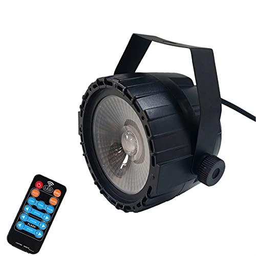 Foco de Escenario 3 0W COB LED Luces de Escenario Control Remoto RGB Control de Voz / DMX512 por DJ Luces, iluminación de Escenario de la Iglesia, Boda, Teatro. (Plug Type : US Plug)