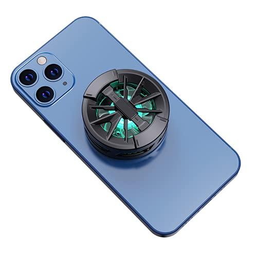 Refrigerador de teléfono celular, X6 USB portátil universal semiconductor magnético semiconductor teléfono celular, apto para iPhone Android teléfonos/tabletas, juegos, transmisiones en vivo, etc.
