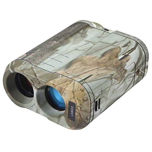 Bestlymood Jagd-Entfernungsmesser für die Jagd mit Geschwindigkeits-Scan und normalen Messungen für Bogenjagd, Camping mit Neigungskorrektur