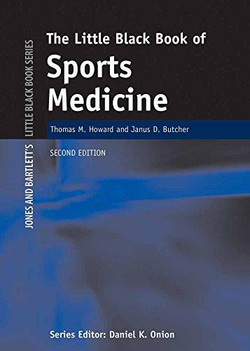 Little Black Book of Sports Medicine , Second Edition (Jones and Bartlett's Little Black Book)