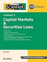Scanner-Capital Markets & Securities Laws (CS-Executive)(For June 2019 Exam -Old Syllabus) (6th Edition January 2019)