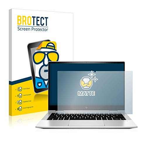 BROTECT Entspiegelungs-Schutzfolie kompatibel mit HP EliteBook x360 830 G8 Bildschirmschutz-Folie Matt, Anti-Reflex, Anti-Fingerprint