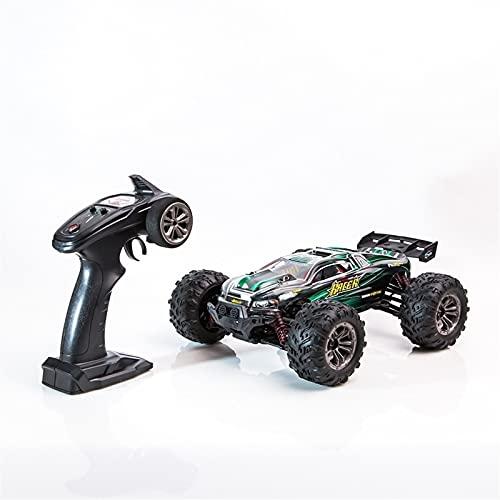 SFOOS 1/16 Escala Recargable RC Car, Amortiguador hidráulico de Metal, automóvil de Control Remoto de Alta Velocidad Profesional 4WD, Adultos y niños