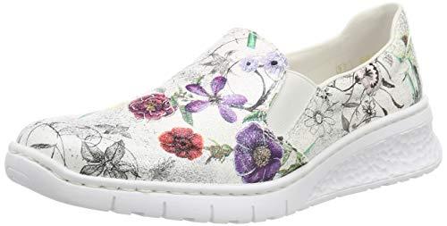 Rieker Damen 58166-90 Schuhe, Silber (Ice-Multi 90), 40 EU