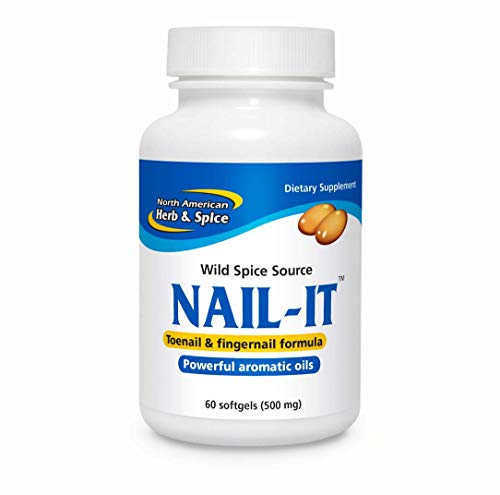 North American Herb and Spice Nail-It Gelcaps, 60 Count