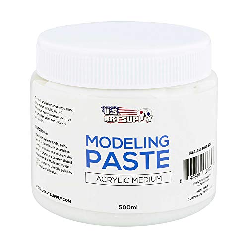 U.S. ART SUPPLY Modeling Paste Acrylic Medium