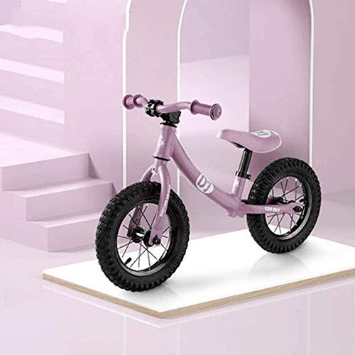 Equilibrio Bike,L'Equilibrio Dei Bambini Car Motorino Senza Pedali 1-3 Bambino Di Anni Scorrere Car 3-6 Anni Bambino Bicicletta,Viola
