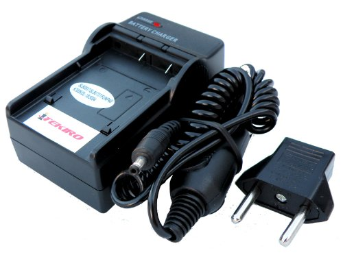 iTEKIRO Replacement Wall + Car Battery Charger Kit for Sanyo VPC-E1090