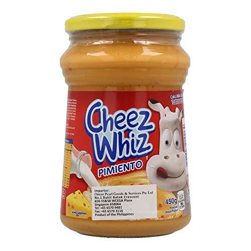 Pasta de queso con pimiento (CHEEZ WHIZ KRAFT) 470g