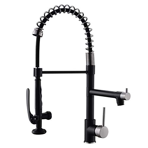 Pull Down Kitchen Faucet with Sprayer,Fapully...