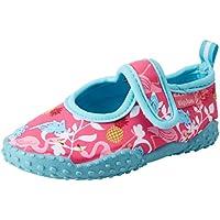 Playshoes Zapatillas de Playa con protección UV Flamenco, Zapatos de Agua Unisex Niños, Turquesa (Tuerkis 15), 22/23 EU