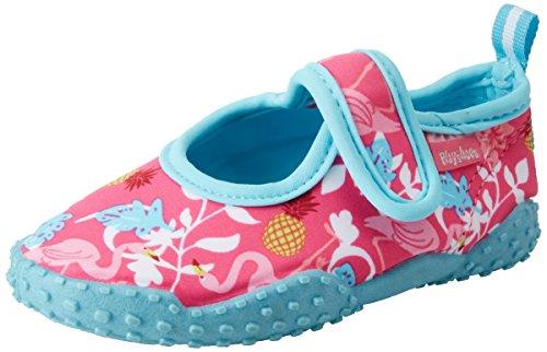 Playshoes Unisex-Kinder Aqua-Schuhe Flamingo ,Türkis (Türkis) ,20/21 EU