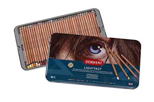 Derwent 2302721 - Lata para lápices de colores (36 unidades)