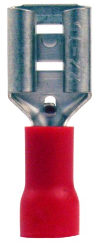 db Link RIQDF250P Female Quick Disconnects (Red)