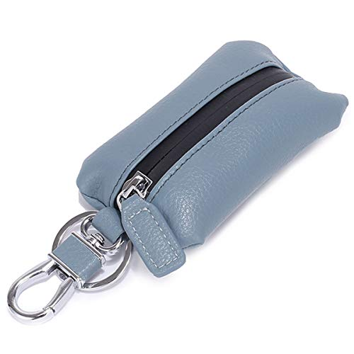 Aileder Schutzhülle für Autoschlüssel, wasserdicht, aus Leder, für Autoschlüsselanhänger, Münzhalter, Auto-Fernbedienung, Geldbörse