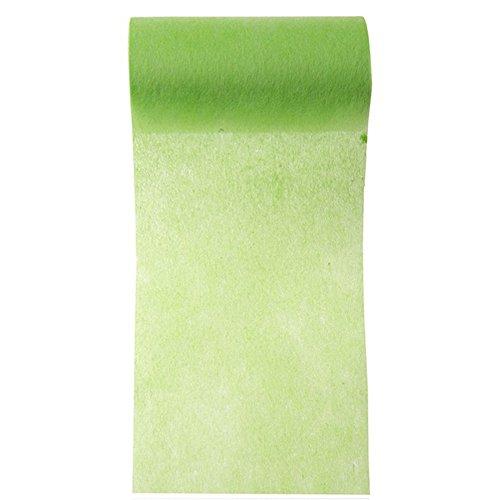 NEU Tischband / Schleifenband, grün, 10cm x 10m