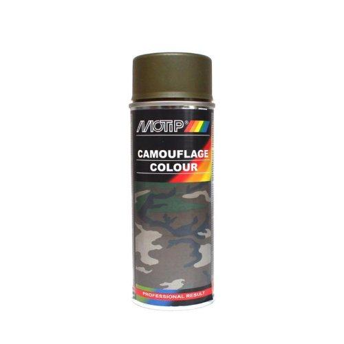 Lack MOTIP Camouflage Gelb/Olive (RAL6014) 400ml